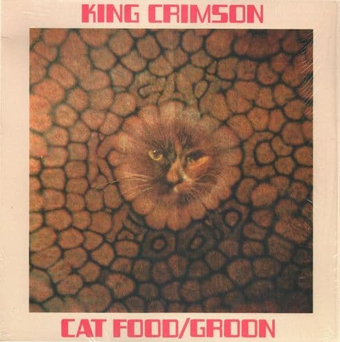 "King Crimson<br>Cat Food / Groon<br>10"", Single, RE, 50t"